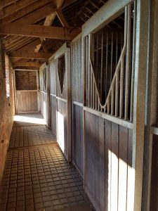 Indoor Stables River View Livery Yard